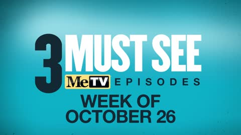3 Must See Episodes | October 26 - November 1
